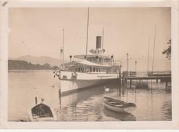- SUISSE - Belle PHOTO OUCHY LAUSANNE  180mmx130mm, - L'Embarcadère - 007 - Lieux
