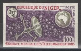 Niger - YT PA 186 ** Non Dentelé - 1972 - Télécommunications - Niger (1960-...)