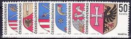 ** Tchécoslovaquie 1969 Mi 1904-9 (Yv 1750-5), (MNH) - Unused Stamps