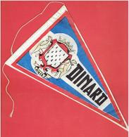 FANION EN TISSU 1950 1960 DINARD COTE D EMERAUDE ILLE ET VILAINE BRETAGNE - Recordatorios