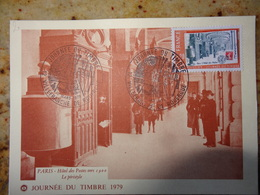 1er Jour Villefranche De Rouergue Journee Du Timbre  Aveyron 1979 - FDC