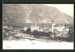 CPA Biege, Vue Partielle Der Ortschaft Avec L'Église - VS Valais