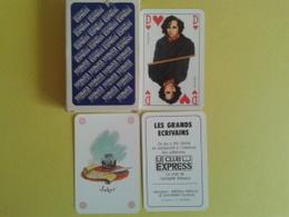 Le Club Express. Les Grands Ecrivains . Jeu De 52 Cartes + 2 Jokers. Bon Etat .boite Carton - Playing Cards (classic)