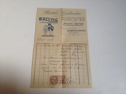 Facture, Mabille Gaillardon ,Bacqueville En Caux , Quicaillerie, 1927 - France