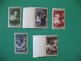 Lot De Timbre Sarre 1951 Neuf ** à Voir N° 296 à 300 - Nuovi