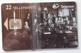 Norway , N 88 , Telephone Central, Unused In Blister - Norway