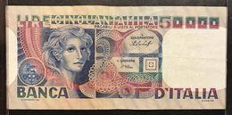 Italy Italia 50000 LIRE Volto Di Donna 20 06 1977 LOTTO 2276 - [ 2] 1946-… : Repubblica