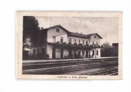 ALLEMAGNE Schierstein Am Rhein (Wiesbaden) Gare, Bahnhof, Intérieur, Ed Oho, 192? - Wiesbaden