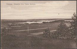 Orsasjön Från Västra Storbyn, Våmhus, C.1920s - Anders Erikson Vykort - Sweden