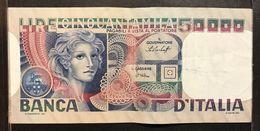 Italy Italia 50000 LIRE Volto Di Donna 23 10 1978 LOTTO 1933 - [ 2] 1946-… : Repubblica