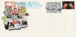 Cars - Automobile - Voiture - Formule 1 - AUSTRALIE 1985 2ème Journée D'essais - Automobile