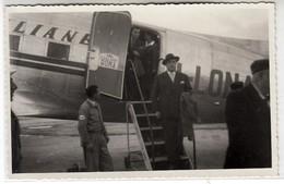 AEREO PLANE AIRCRAFT LAI AEROPORTO DEL LITTORIO - FOTO ORIGINALE 1949 - Aviation