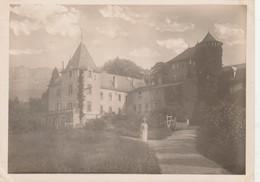 - Belle PHOTO 180mmx130mm,- 74 - Château D'Aleman, Près D'Evian - 029 - Lieux