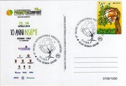 Italia 2018 Salone Internaz. Progetto Comfort Ambiente Annullo Catania Cartolina Dedicata - Protezione Dell'Ambiente & Clima