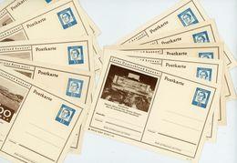 10 Verschiedene Bild Postkarten P 81 - [7] République Fédérale