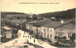 FLAMERECOURT .... VUE D ENSEMBLE PLACE DE LA MAIRIE - France