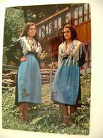 VALSESIA - ALAGNA COSTUME LOCALE    VERCELLI  VIAGGIATA COME DA FOTO - Costumi