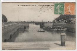 44 - La Martinière - L'Ecluse Du Canal Vers La Loire - France