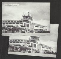 Portugal 2 Carte Entier Postal 2016 Aéroport Humberto Delgado Lisbonne Avion 2 Postcard Stationery Lisbon Airport Plane - Aerodrome
