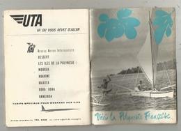 Publicité ,VOICI LA POLYNESIE FRANCAISE , 48 Pages , Plans ,photographies.. ,frais Fr 2.95e - Publicités
