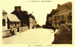 D 56 - PLUMELIN - Le Bourg - ED. Waron & Cie - Francia