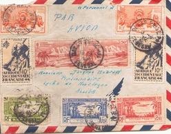 AOF ENVELOPPE DU 18 MARS 1950 DE DAKAR A MONTLUCON - A.O.F. (1934-1959)