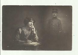 Militair - Belge - Surrealisme , Fotokaart - Personen