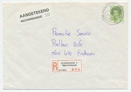 Em. Beatrix Aangetekend Gorinchem A Rijdend Postkantoor 1991 - Non Classés