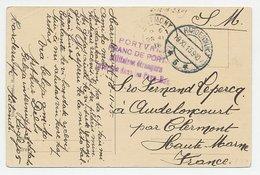 Franc De Port Harderwijk - Frankrijk 1915 - 1891-1948 (Wilhelmine)