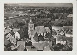 CPSM Grand Format - EN AVION AU DESSUS DE ... BERRWILLER - L'Eglise - France