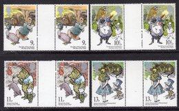 GREAT BRITAIN GB - 1979 INTERNATIONAL YEAR OF THE CHILD SET (4V) X 2 GUTTER PAIRS FINE MNH ** SG 1091-1094 X 2 - 1952-.... (Elizabeth II)