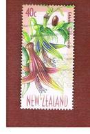 NUOVA ZELANDA (NEW ZEALAND) - SG 2222  -  1999  FLOWERING TREES: FUCHSIA   -  USED° - New Zealand
