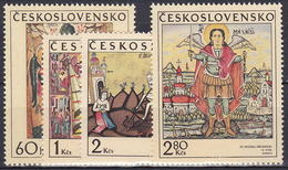 ** Tchécoslovaquie 1970 Mi 1976-9 (Yv 1820-3), (MNH) - Tchécoslovaquie
