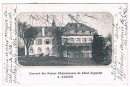 CPA Rare : NAMUR BOUGE , Couvent Des Dames Chanoinesses De Saint Augustin - Namur
