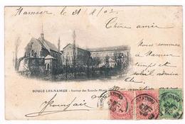 CPA Dos Non Divisé : NAMUR BOUGE , Institut Des Sourds Muets - Namur