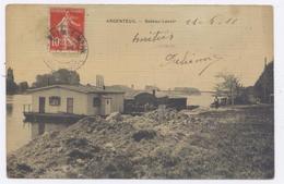 ARGENTEUIL - Bateau-Lavoir - 1911 -bon état - Argenteuil