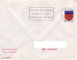 FRANCE : 1968 - Paris 13 - Salon De L'auto Cycle Et Moto - 3-13 Oct. 1968 - Frankreich