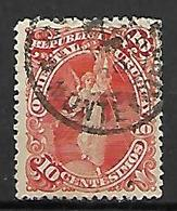 URUGUAY    -   1897.   Y&T N° 124 Oblitéré. - Uruguay