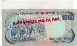 VIET NAM - BILLET 1000 NGAN HANG QUOC -GIA - ALPHABET Q5  760062 - Viêt-Nam