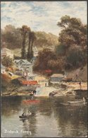 Bodwick, Fowey, Cornwall, 1906 - Hildesheimer Postcard - England