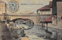 HERICOURT - La Luzine Et Le Grand Pont (carte Toilée) - Francia