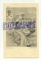 Guerre 14-18. Ill. Louis Raemackers.Les Gaz. Asphyxie Lente. Malades Qui Se Tordent Dans Un Lit D'hôpital - Oorlog 1914-18