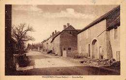 MAZIERES - Grande Rue - Other Municipalities
