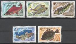 USSR 1983 Sol# 5414-18** FISH - Ongebruikt