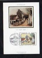 """Art,Arts / Carte Maximum Cachet 1er Jour Paris 1983 Sur N° 2297 / Utrillo """"Le Lapin Agile"""" - Pintura & Cuadros"""
