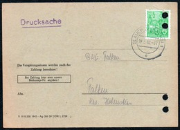 B6513 - Glauchau - Bedarfspost Firmenpost Rechnung Drucksache - Allemagne