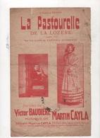 PARTITION ET PAROLES LA PASTOURELLE DE LA LOZERE ANNEE 1933 PAROLES DE VICTOR BAUDIERE MUSIQUE DE MARTIN CAYLA - Partitions Musicales Anciennes