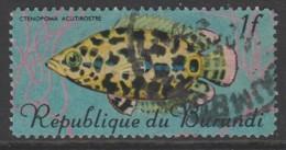 Burundi 1967 Fish 1 Fr Multicoloured SW 324 O Used - Burundi