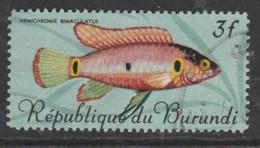 Burundi 1967 Fish 3 Fr Multicoloured SW 327 O Used - Burundi