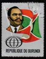 Burundi 1972 The 10th Anniversary Of Independence 13 Fr Multicoloured SW 881 O Used - Burundi